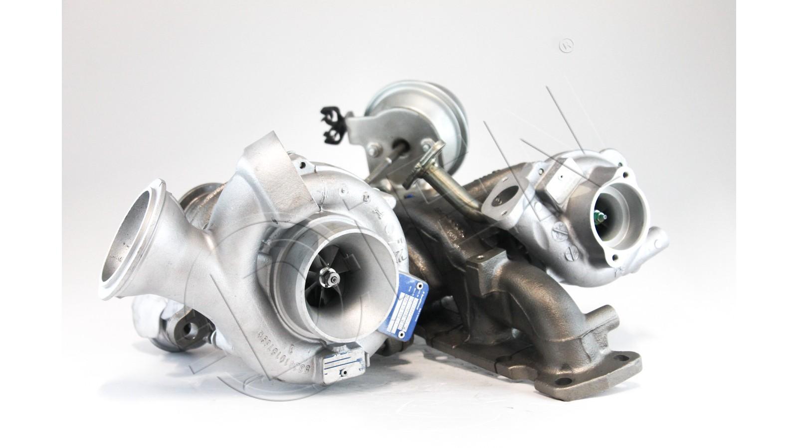 Turbocompressore rigenerato per VOLVO S60 II D5 215Cv