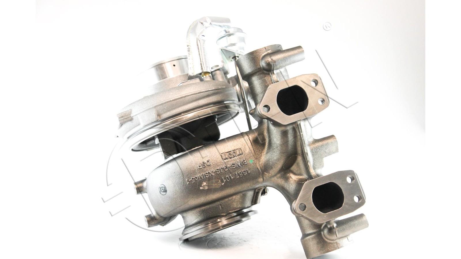 Turbocompressore rigenerato per TEMSA SAFARI SAFARI 12 HD, SAFARI 13 HD 408Cv