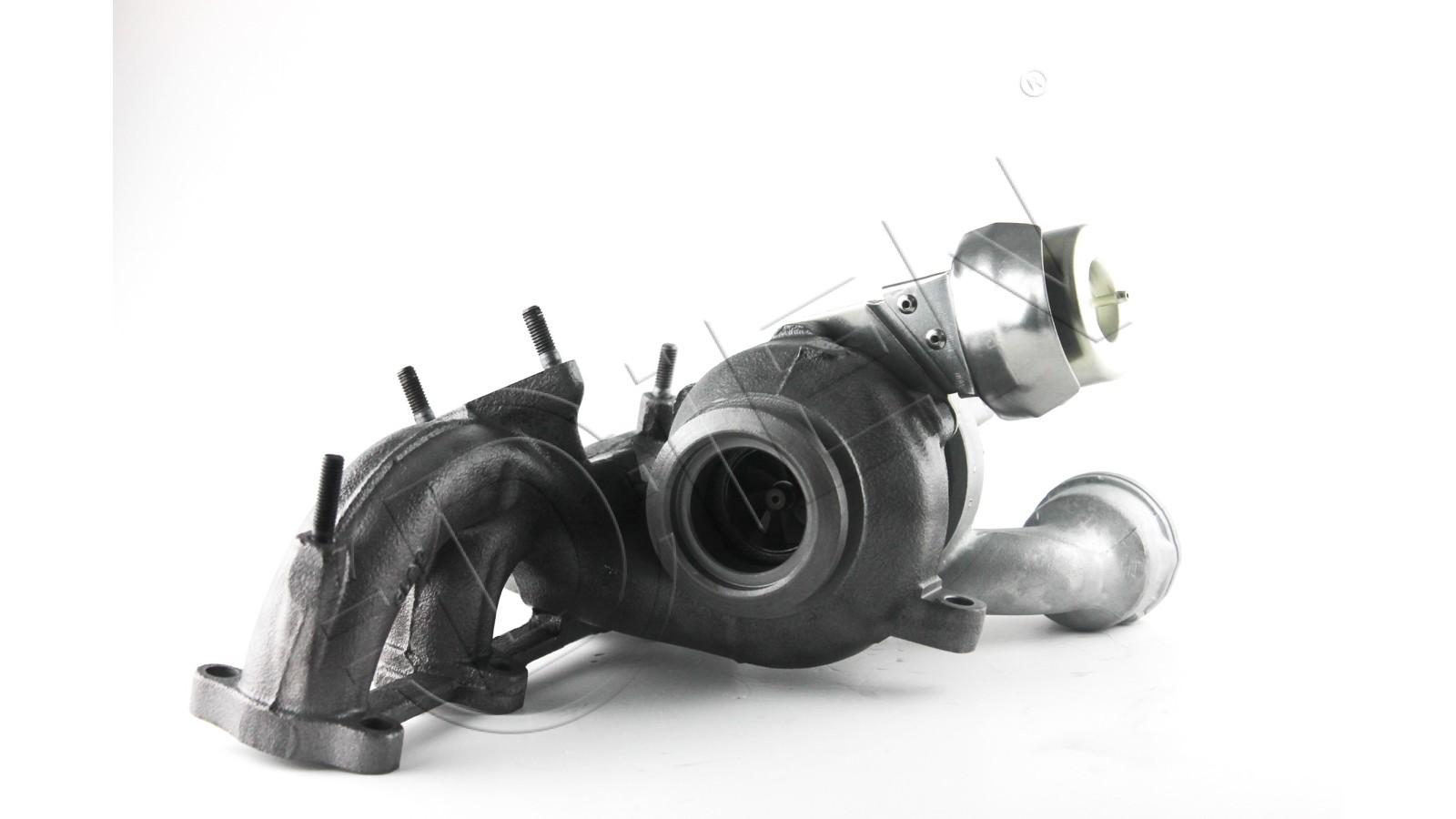Turbocompressore rigenerato per VOLKSWAGEN TRANSPORTER V (7HB, 7HJ, 7EB, 7EJ, 7EF, 7EG, 7HF, 7E 1.9 TDI 84Cv