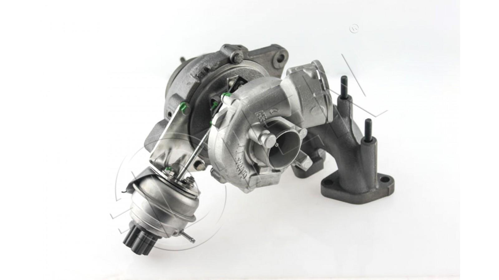 Turbocompressore  VOLKSWAGEN  GOLF V  2.0 TDI 16V  140Cv  1968ccm  ott 2003 - nov 2008