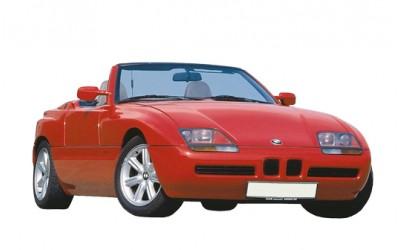 FAP BMW Z1 2.5 170cv (125kw) - 2494ccm giu 1988 - giu 1991